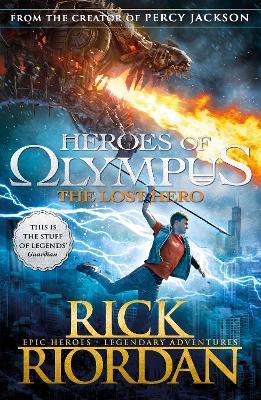Lost Hero (Heroes of Olympus Book 1) book