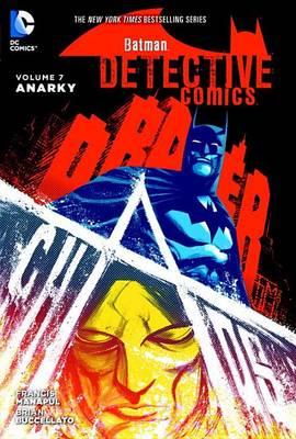 Batman Detective Comics HC Vol 7 Anarky book
