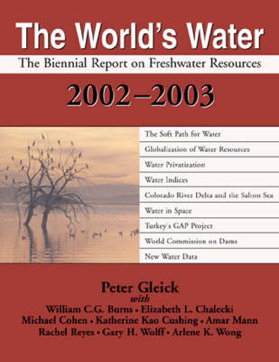 The World's Water 1998-1999 by Peter H. Gleick