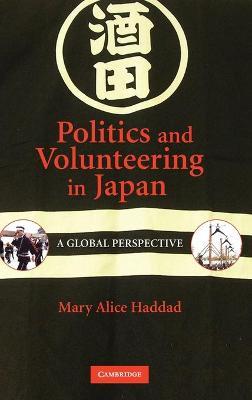 Politics and Volunteering in Japan book