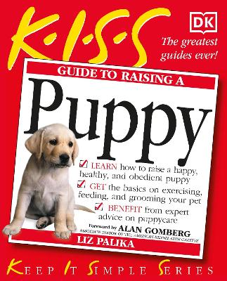 KISS Guide To Raising a Puppy book