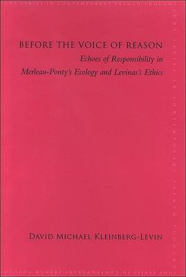 Before the Voice of Reason book