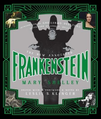 New Annotated Frankenstein book