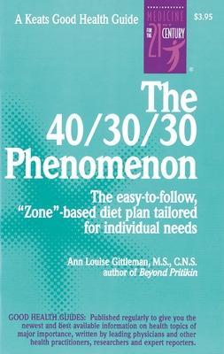 40/30/30 Phenomenon book