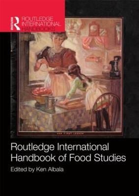 Routledge International Handbook of Food Studies book