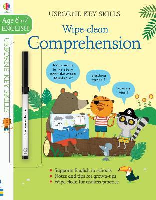 Wipe-Clean Comprehension 6-7 book