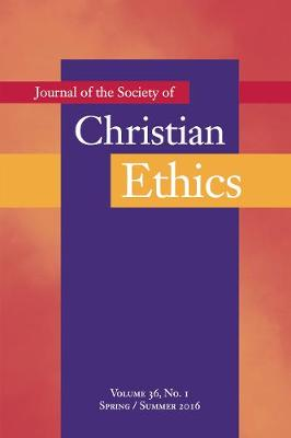 Journal of the Society of Christian Ethics by Mark Allman