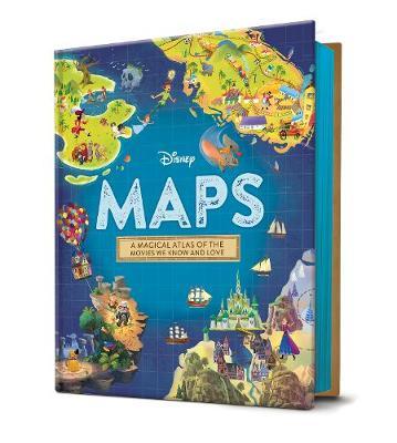 DISNEY MAPS STORYBOOK book