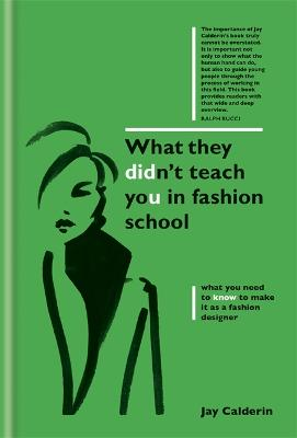 What They Didn't Teach You in Fashion School book