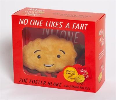 No One Likes a Fart hardback book and plush toy box set by Zoe Foster Blake