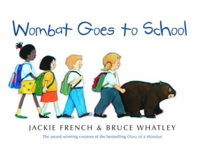 Wombat Goes to School book