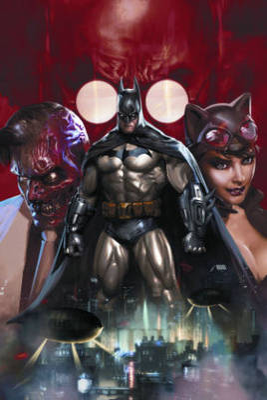 Batman Batman: Arkham Unhinged HC Arkham Unhinged by Derek Fridolfs