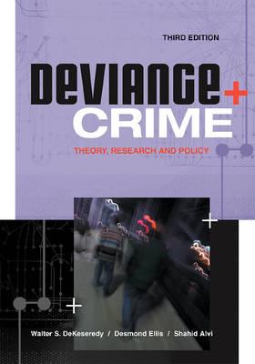 Deviance and Crime book
