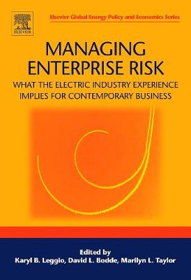 Managing Enterprise Risk: What the Electric Industry Experience Implies for Contemporary Business book