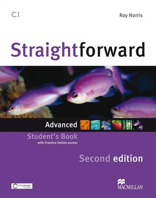 Straightforward 2nd Edition Advanced Level Student's Book & Webcode book