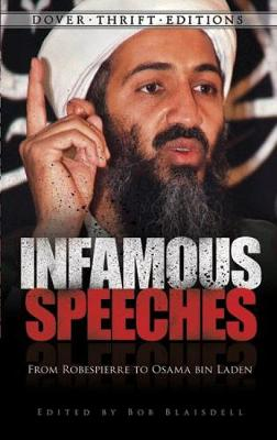 Infamous Speeches by Bob Blaisdell
