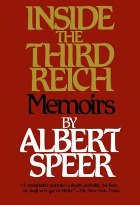 Inside the Third Reich by Albert Speer