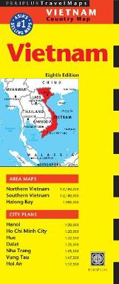 Vietnam Travel Map Eighth Edition by Periplus Editions