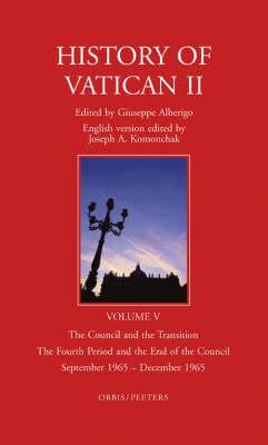 History of Vatican II by Joseph A. Komonchak
