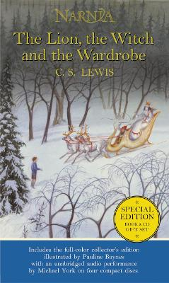 The Lion, the Witch and the Wardrobe: Book and CD boxed set (The Chronicles of Narnia, Book 2) by C. S. Lewis