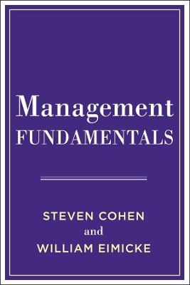 Management Fundamentals by Steven Cohen