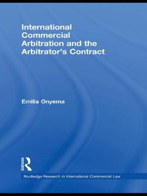 International Commercial Arbitration and the Arbitrator's Contract book