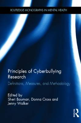 Principles of Cyberbullying Research book