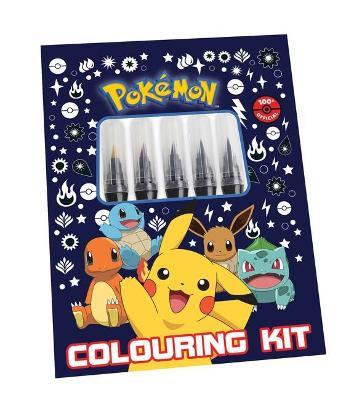 Pokemon: Colouring Kit book