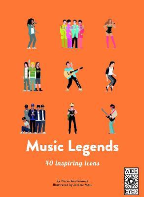 Music Legends by Herve Guilleminot