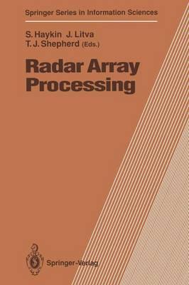 Radar Array Processing by Simon S. Haykin