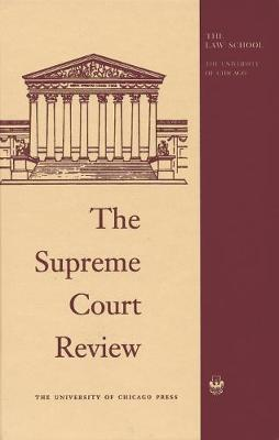 The Supreme Court Review by Dennis J. Hutchinson