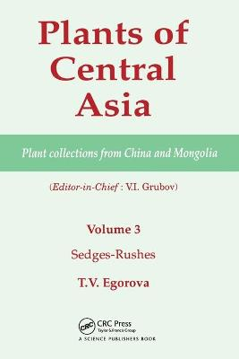 Plants of Central Asia - Plant Collection from China and Mongolia, Vol. 3: Sedges-Rushes book