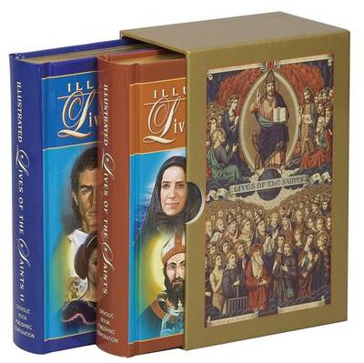 Illustrated Lives of the Saints Boxed Set by Hugo Hoever