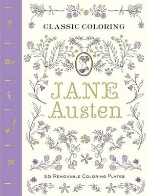 Classic Coloring: Jane Austen by Abrams Noterie