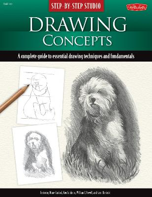 Step-By-Step Studio: Drawing Concepts by Diane Cardaci