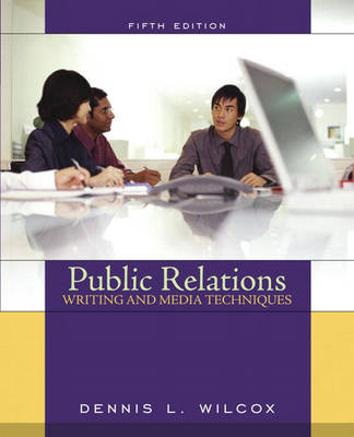 Public Relations Writing and Media Techniques book