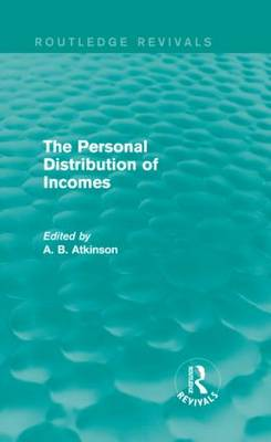 The Personal Distribution of Incomes by A. B. Atkinson