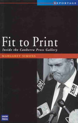 Fit to Print by Margaret A. Simons