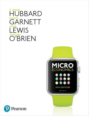 Microeconomics by R., Glenn Hubbard