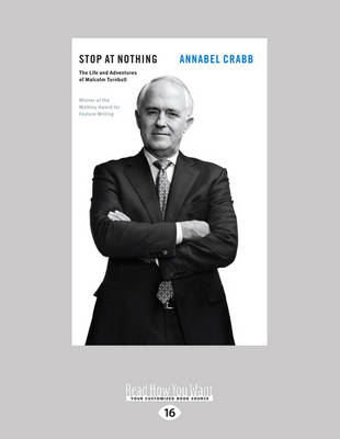Stop at Nothing by Annabel Crabb