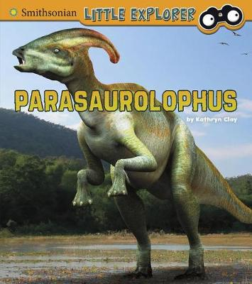 Parasaurolophus by Kathryn Clay
