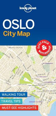Lonely Planet Oslo City Map by Lonely Planet