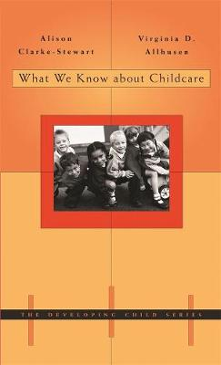 What We Know About Childcare book