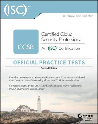 (ISC)2 CCSP Certified Cloud Security Professional Official Practice Tests by Ben Malisow