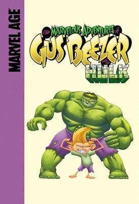 Gus Beezer with the Hulk book