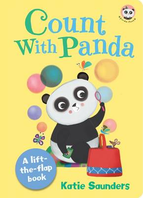 Count with Panda - Panda Paws Lift-the Flap by Katie Saunders
