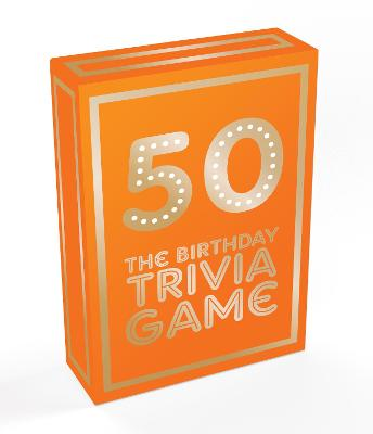 50: The Birthday Trivia Game by Summersdale Publishers