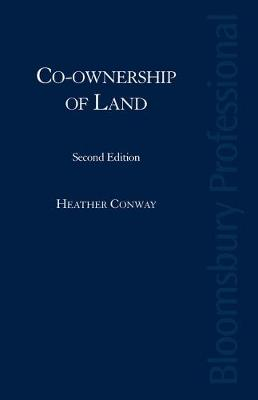 Co-Ownership of Land by Dr Heather Conway