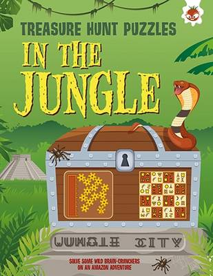 In The Jungle: Solve lots of wild brain-crunchers on an Amazon adventure book