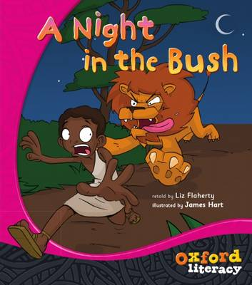 Oxford Literacy A Night in the Bush: Fiction Level 7 by Liz Flaherty